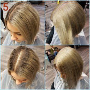 Ilyen volt - ilyen lett: acélszürke haj fázisleírással!
