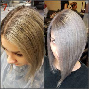 Acélszürke haj